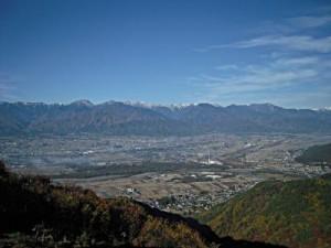 信州松本浅間温泉 ホテル玉の湯(玉之湯) 観光情報 長峰山からの安曇野の風景