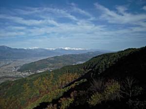 信州松本浅間温泉 ホテル玉の湯(玉之湯) 観光情報 安曇野から見た白馬の峰
