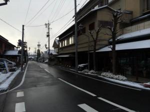 12月14日(日)7:30現在の雪の状況