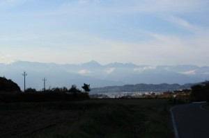 信州松本浅間温泉 ホテル玉の湯(玉之湯)  素晴らしい北アルプスの眺め