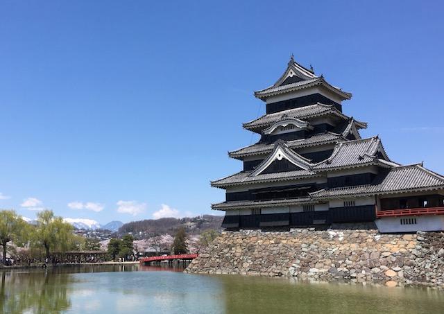 国宝松本城など入場可能となりました