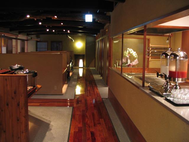 信州バリアフリーの世界松本浅間温泉 ホテル玉の湯(玉之湯) リニューアル情報 すごくいい雰囲気です『料亭天ノ川』